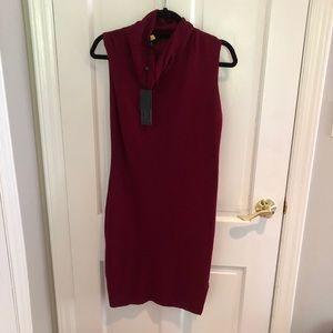 BCBGMaxazaria Red Sweater Dress